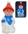 Lichtgevende sneeuwpop 48 cm