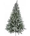 Luxe kerstboom met sneeuw 150 cm