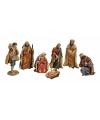 Luxe kerststal figuren van polystone 7x