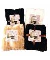 Luxe vacht deken beige 200 cm
