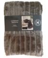 Luxe vacht deken taupe 200 cm