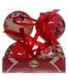 Minnie mouse kerstballen 4 stuks