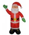 Opblaasbare kerstman 180 cm