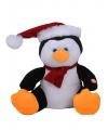 Pinguin met bewegende kerstmuts