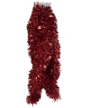 Rode folie slinger 270 x 12 cm