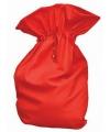 Rode kerst cadeau zak