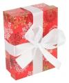 Rood kerst decoratie kadootje 14 cm