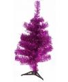 Roze kerstboom 50 cm