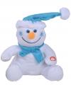 Sneeuwpop met bewegende kerstmuts