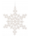 Sneeuwvlok decoratie wit 14 5 cm type 2