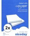 Voordelig wit a4 papier 1000 vellen 80 grams