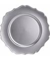 Zilveren onderzetbord 33 cm