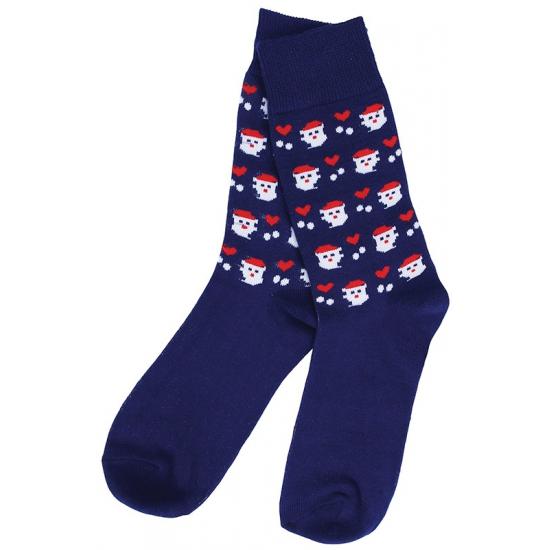 fe51b22e75a Kerstmis sokken blauw bij kerst-artikelen.nl.