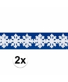 2x sneeuw slinger 3 meter