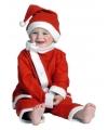 Kerstman outfit voor een peuter