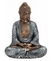 Decoratie beeld Boeddha 23 cm