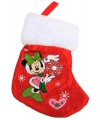Disney Minnie Mouse kerstsok mini