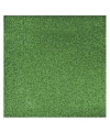 Papier glitter groen vel