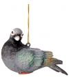 Hangdecoratie duif 11 cm
