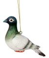 Hangdecoratie witte duif 12 cm