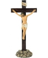 Gekruisigde Jezus Christus beeldje 32 cm