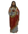 Jezus met heilig hart beeldje 20 cm