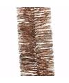 Kerst bronzen folieslinger nature christmas 270 cm