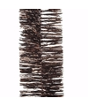Kerst bruine folieslinger glamour christmas 270 cm