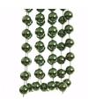 Kerst groene xxl kralenslinger ambiance christmas 270 cm