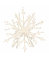 Kerst hangdecoratie sneeuwvlok hanger 18 cm