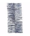 Kerst ijsblauwe folieslinger mystic christmas 270 cm