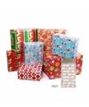 Kerst inpakpapier set s