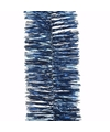Kerst nachtblauwe folieslinger mystic christmas 270 cm