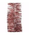 Kerst oud roze glitter folieslinger sweet christmas 270 cm