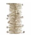 Kerst parel folieslinger elegant christmas 270 cm