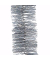 Kerst zilveren glitter folieslinger elegant christmas 270 cm
