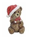 Kerstbeer beeldje 12 cm