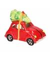 Kerstboom decoratie auto hanger met licht type 4