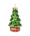 Kerstboom decoratie kerstboom hangers 5 cm 2 stuks