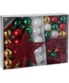 Kerstboom decoratie set 33 delig moods classics