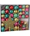 Kerstboom decoratie set 45 delig fantasy classics