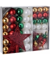 Kerstboom decoratie set 45 delig moods classics