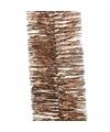 Kerstboom folie slinger brons 270 cm