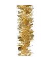 Kerstboom folie slinger goud 200 cm