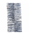 Kerstboom folie slinger ijsblauw 270 cm
