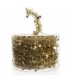 Kerstboom sterren folie slinger goud 700 cm