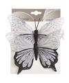 Kerstboom vlinders lila zwart type 1