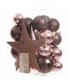 Kerstboomversiering set glamour christmas 33 delig