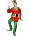 Kerstelf pakken voor volwassenen