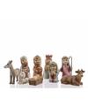Kerstgroep 9 figuren van 7 5 cm